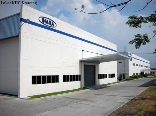 Info Lowongan Kawasan KIIC Karawang PT.Ihara Manufacturing Indonesia Lulusan SMA,SMK
