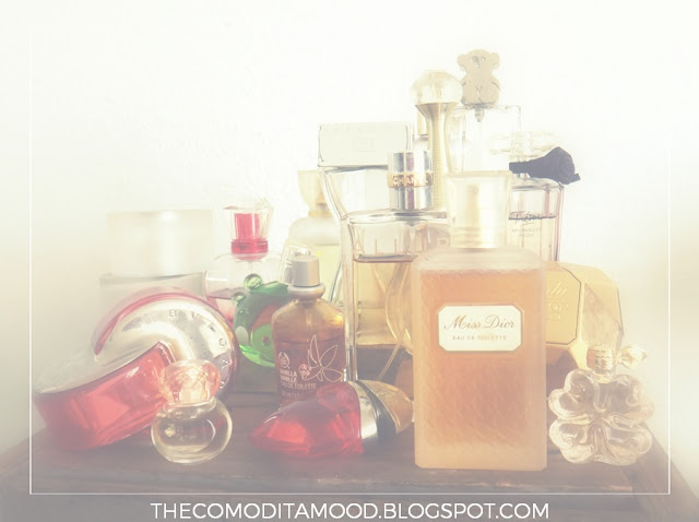 coleccion-de-perfumes-dior-chanel-lancome-tous-givenchy-bulgari-nina-ricci-vintage-j-adore-allure-mexico-ahorro-facil-minimalismo-zero-waste-ecologia-reciclaje-sostenibilidad-consumismo-medio-ambiente