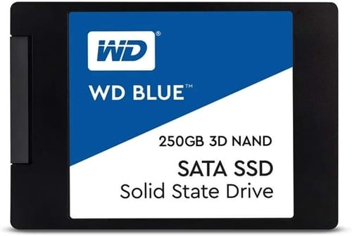 Review WD Blue 3D NAND 250GB Internal PC SSD