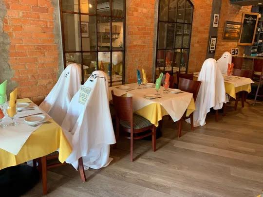 Ide Unik Pemilik Restoran Terapkan New Normal