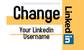 How To Change Your Linkedin Username By Saransh Sagar ?? | Linkedin Ka Username Custom Username Me Kaise Badle ?