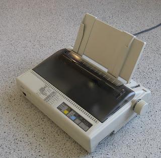 Printer Dot Matrix, printer untuk cetak struk pembayaran