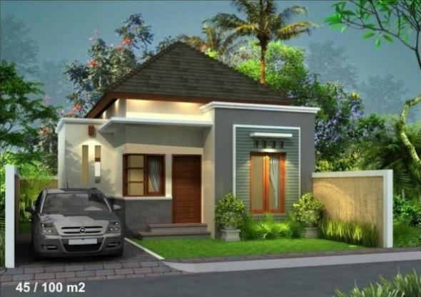 Desain Rumah Minmalis untuk Orang Kantor 2
