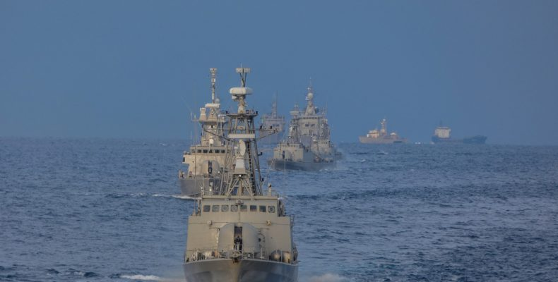 Πολεμικό Ναυτικό: Χριστούγεννα στη θάλασσα, μέρα και νύχτα…