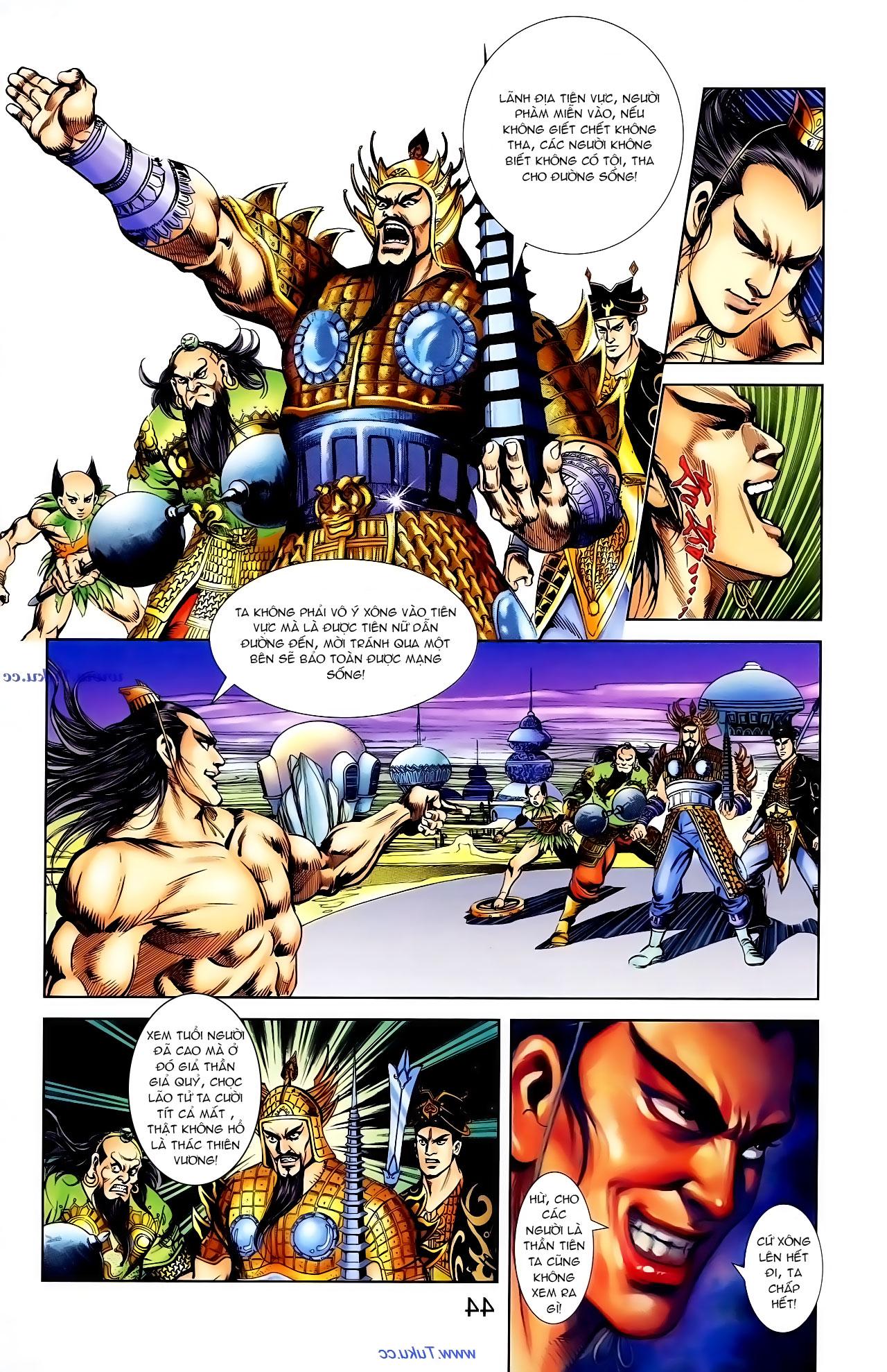Cơ Phát Khai Chu Bản chapter 103 trang 18