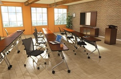 Modular Training Room Tables at OfficeFurnitureDeals.com