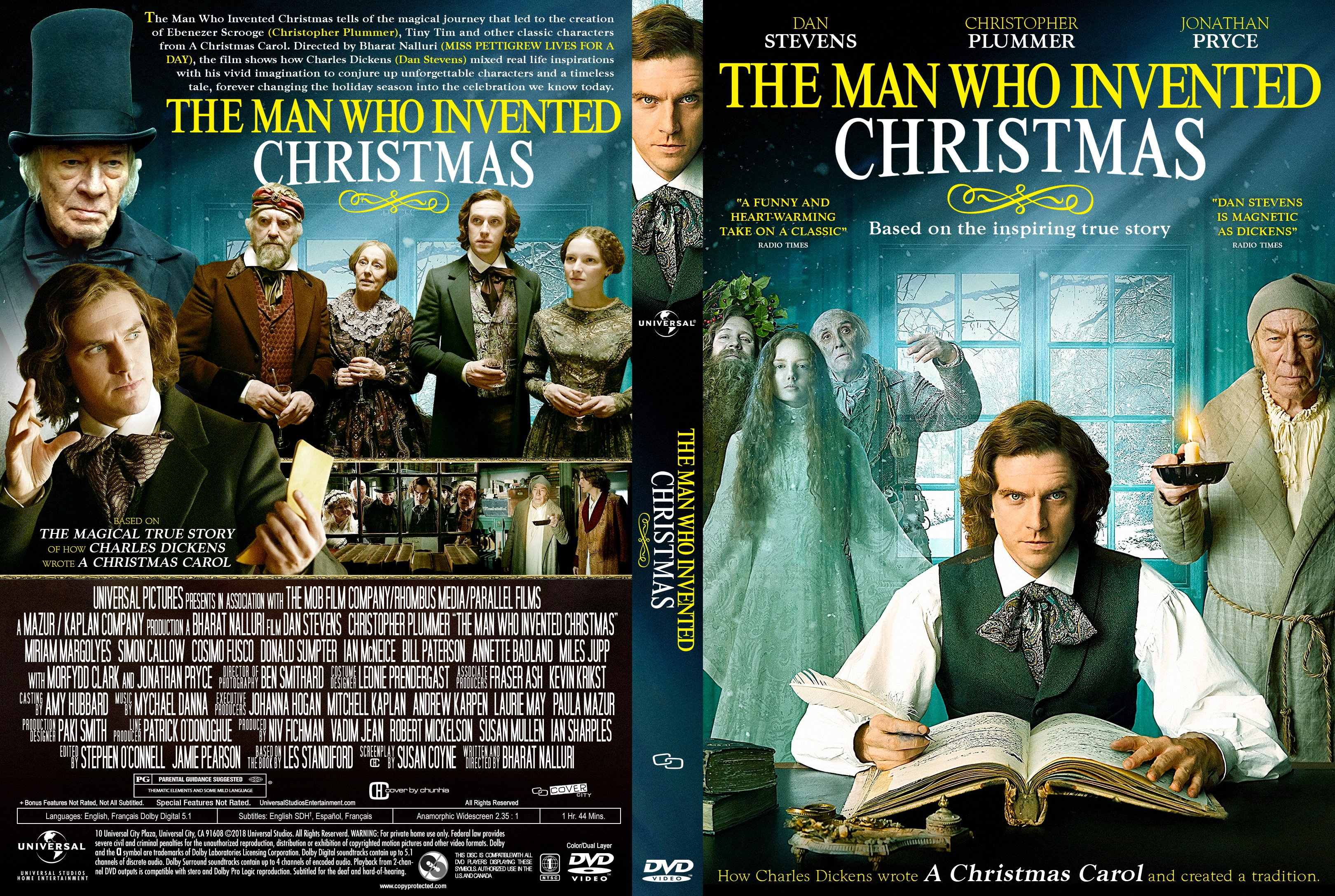 The Man Who Invented Christmas Dvd.The Man Who Invented Christmas Dvd Cover Cover Addict