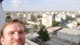 View from Damal Hotel with Hargeisa in Background