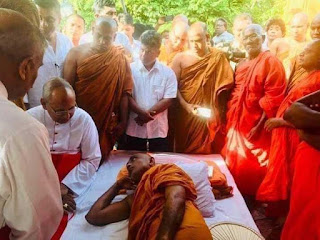 Latest situation about Rathna thero's fast
