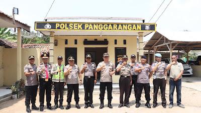 Kapolda Banten Laksanakan Kunjungan Kerja ke Polsek Penggarangan dan Polsek Bayah