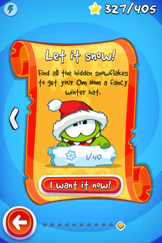 Cut The Rope: Time Travel is an online game and 100% of 3 players like the game. Joining Om Nom, he goes back and feeds his ancestors with candy.
