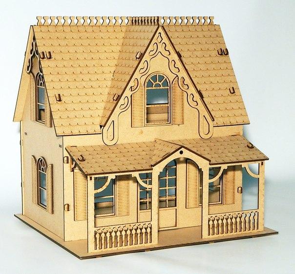 конструктор из фанеры чертежи,кукольный домик для барби куколльная