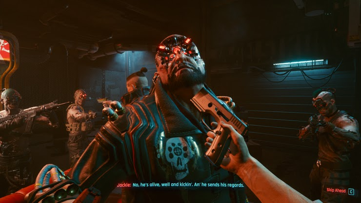 Cyberpunk 2077 - Best Cyberimplatants for Stormtrooper