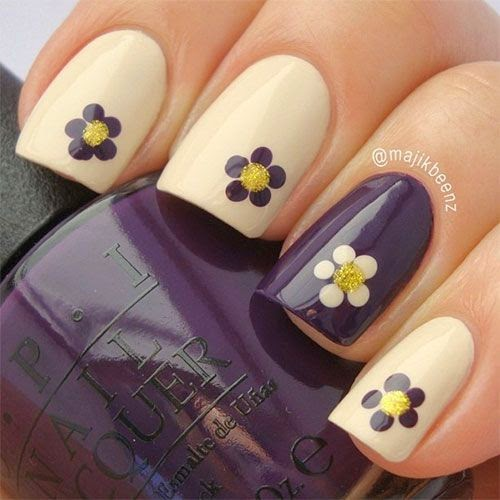 Cute & Easy Fall Nail Art Designs