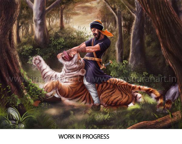 Fighting Wallpaper Hd Imsharanart Concept Artist Hari Singh Nalwa Wip New