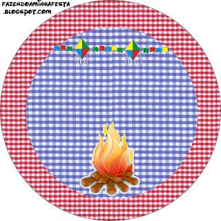 Festa Junina Kit Completo Com Molduras Para Convites Rotulos