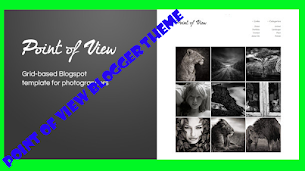 Point Of View Photography Responsive Blogger Theme - Responsive Blogger Template
