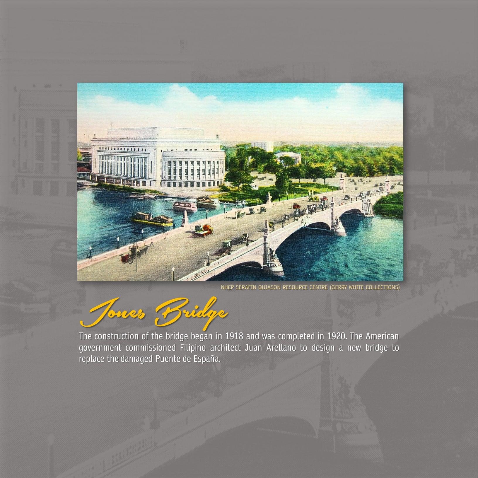Jones Bridge Manila Philippines