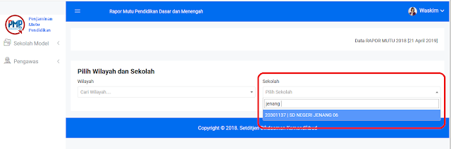 Cara Download Raport Mutu PMP Format Excel Cara Download Raport Mutu PMP Format Excel