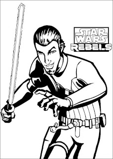 Ausmalbilder Star Wars Rebels zum Audrucken