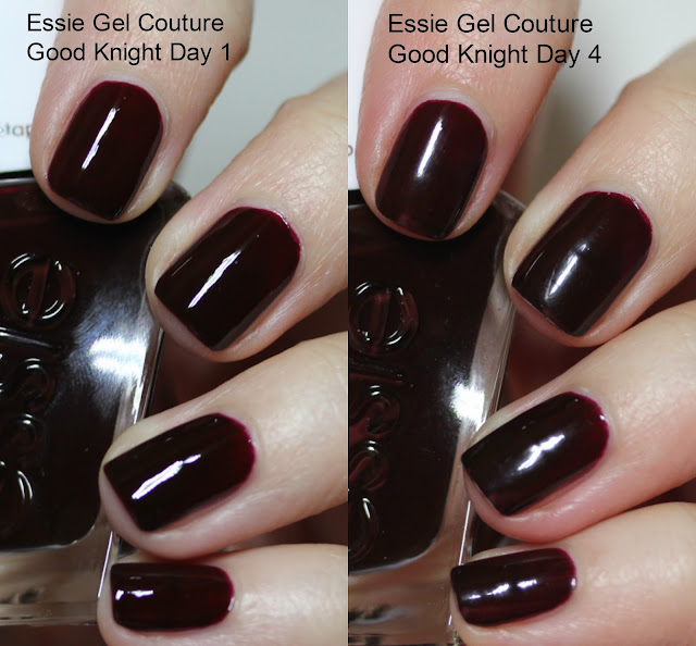 essie Gel Couture Good Knight review