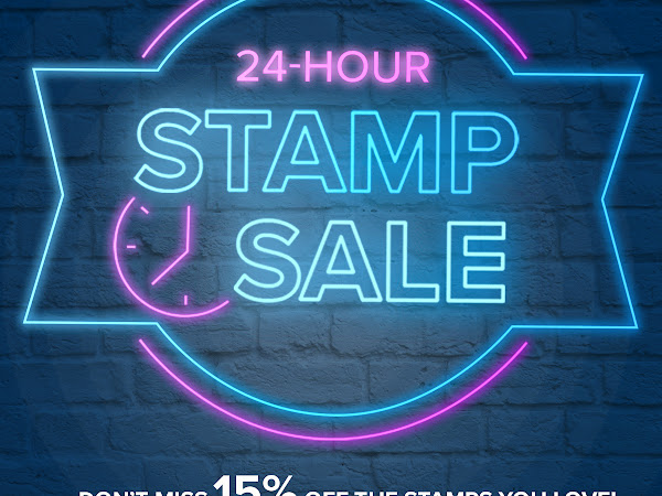 24 Hour Stamp Sale Starts Today!