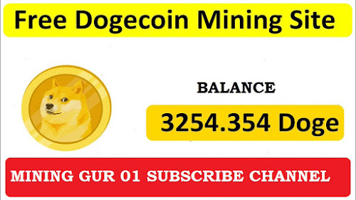Free dogecoin earning and cloud mining site 2020