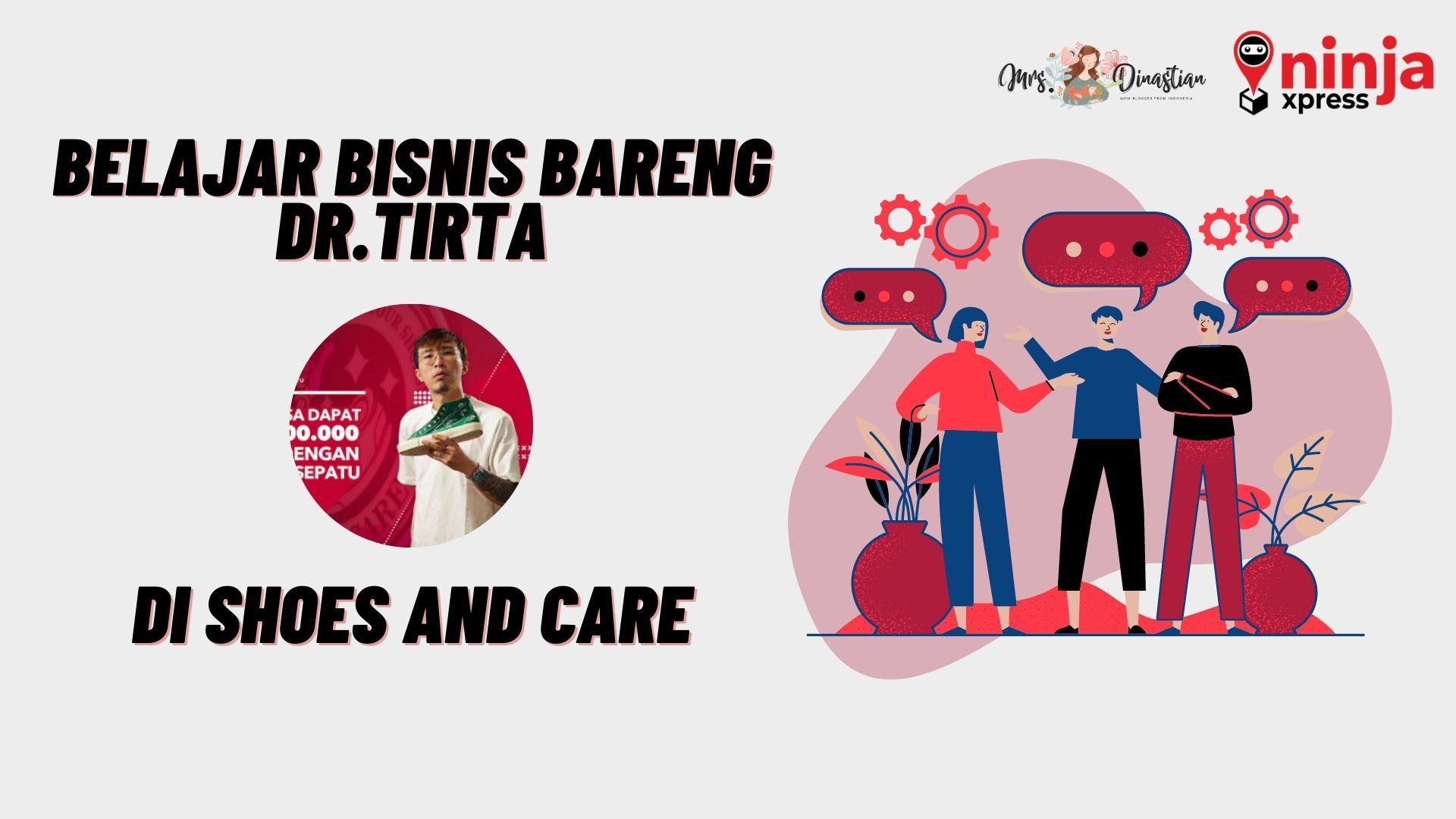 Belajar Bisnis Bersama dr. Tirta