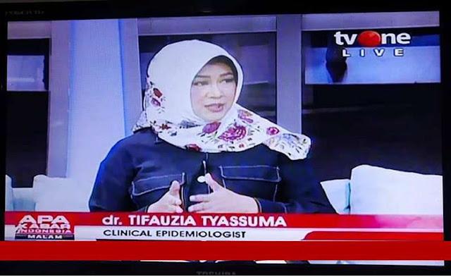dr. Tifa: PSBB itu Kebijakan Politik dan Ekonomi, Bukan Kebijakan Kesehatan