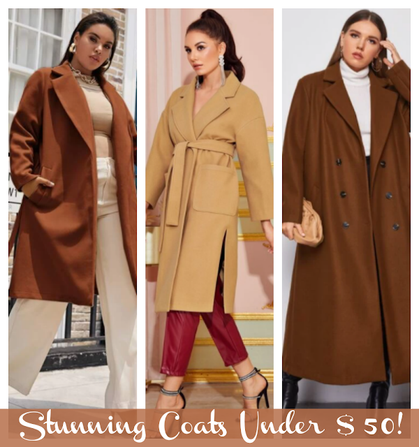 Stunning Coats Under $50