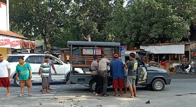 Tabrakan Dua Motor di Kalimanah, Polisi Bawa Korban ke Rumah Sakit