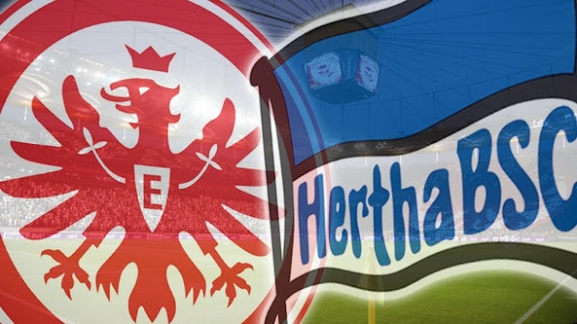Eintracht Frankfurt vs Hertha Berlin Highlights