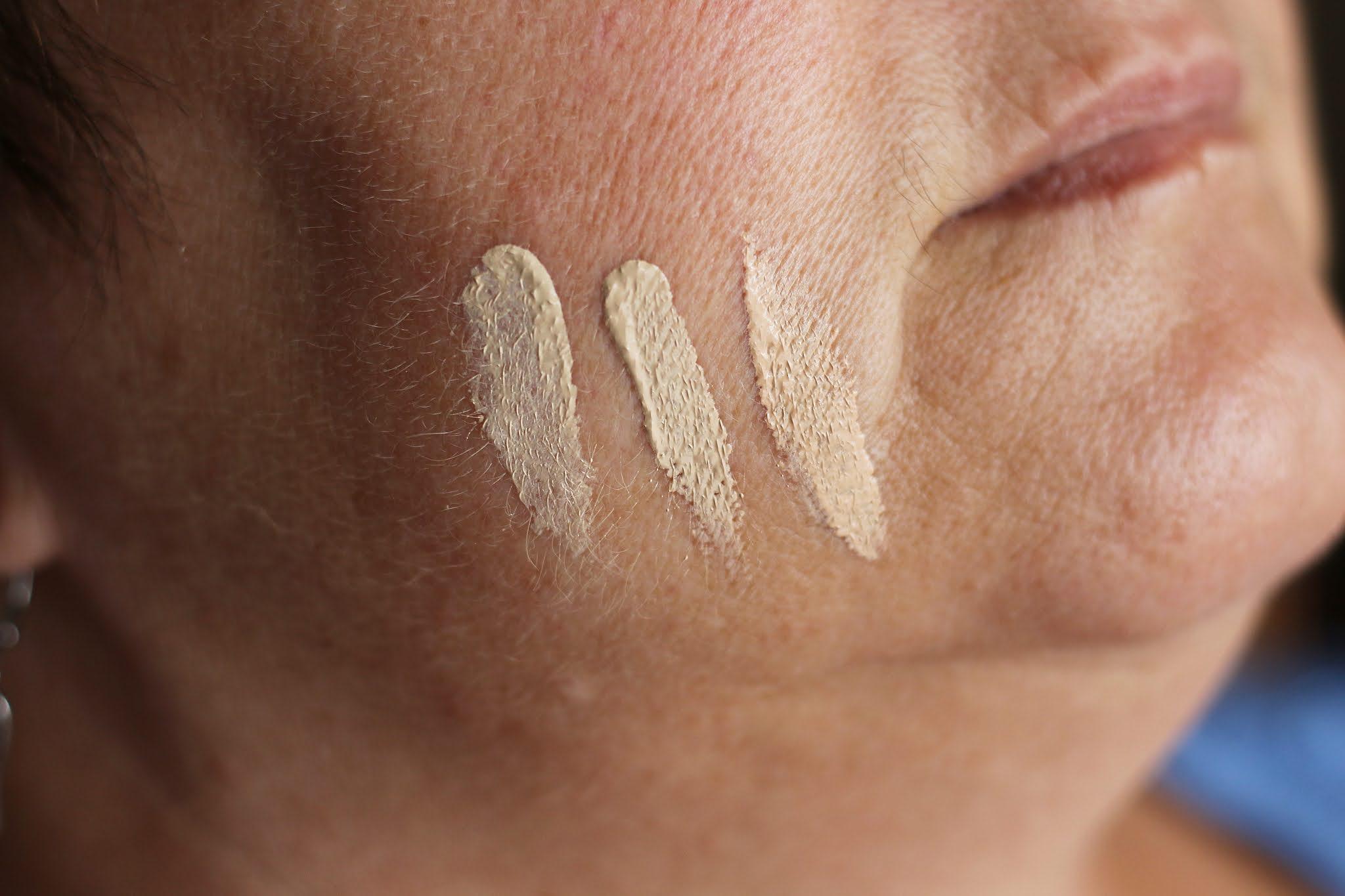 Just Free Skin Bell Hypoallergenic swatche
