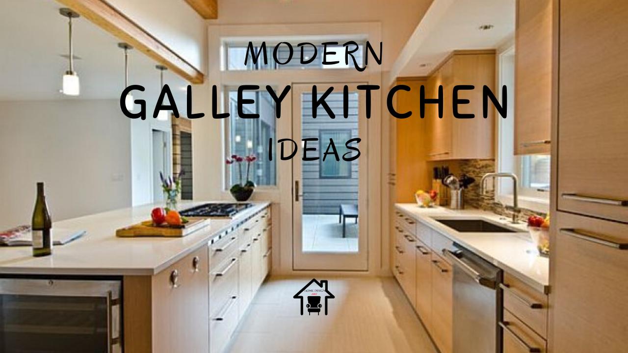7 Beautiful Modern Galley Kitchen Design Ideas Home Design Ideas