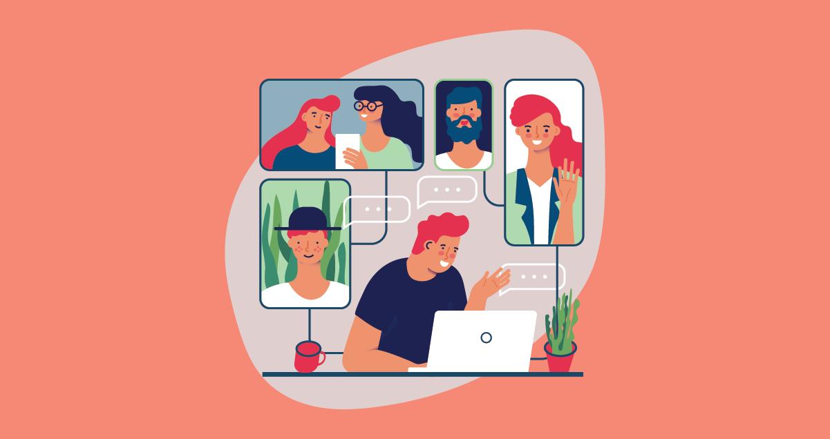 angajati, conectati, HR, cultura, coronavirus, work from home, remote, lucru de acasa, echipa, angajati