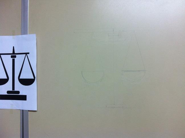 DIY decoração de parede com fita isolante - Tamaravilhosamente
