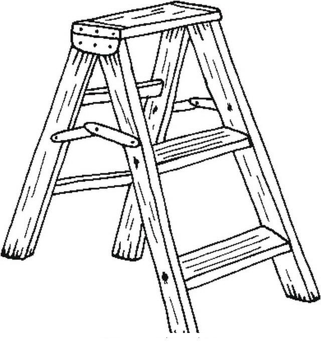 Escalera Para Colorear Y Pintar Dibujo Views