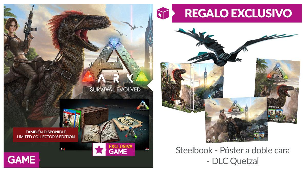 Consigue regalos exclusivos de ARK: Survival Evolved con GAME