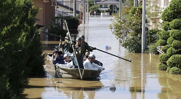 Korban Tewas Topan Hagibis di Jepang Jadi 35 Orang, 20 Hilang