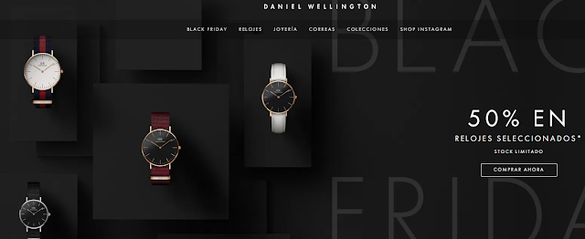Daniel Wellington Black Friday 2020