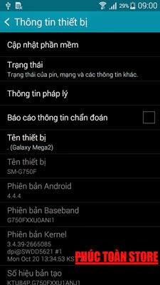 Tiếng Việt Samsung G750F 4.4.4 alt