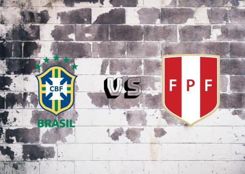 Brasil vs Perú  Resumen y Partido Completo