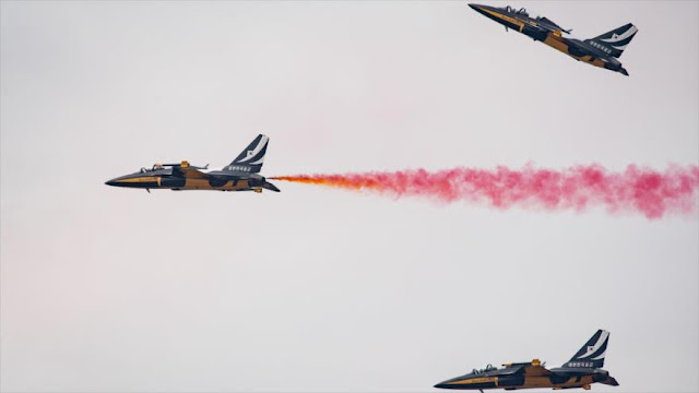 Corea del Sur y EEUU realizan exhibiciones aéreas en Seúl