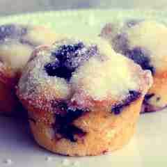 blueberry muffin cupcake