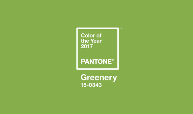 Greenery : A Cor do Ano de  2017