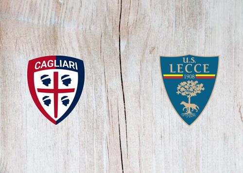 Cagliari vs Lecce -Highlights 12 July 2020
