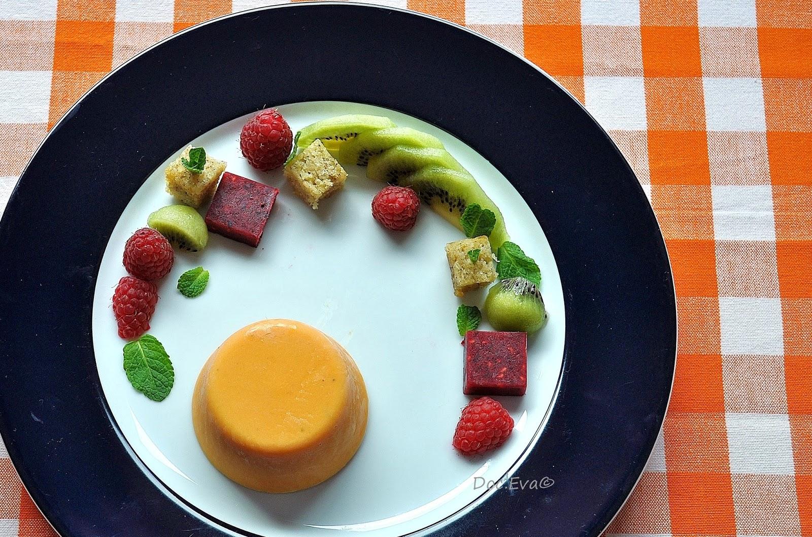 Himbeerpralinen, Süßkartoffel Parfait