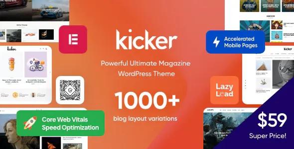Best Multipurpose Blog Magazine WordPress Theme