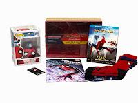 Spider-man: Homecoming (Limited Edition Gift Box) (Walmart Exclusive) (Blu-ray + Digital) CONTENIDO