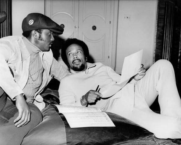 Donny Hathaway et Quincy Jones